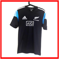 Adidas All Blacks Rugby Shirt Size Small Training New Zealand Player Performance