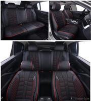 Suzuki Swift Vitara Sx4 Baleno Coprisedili Nero Ecopelle & Tessuto Set Completo
