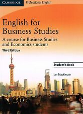 Cambridge Professional ENGLISH FOR BUSINESS STUDIES Student's Book 3rd Ed @NEW@