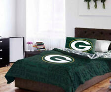 Green Bay Packers Full Comforter & Sheets, 5 Piece NFL Bedding, NEW!