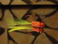 4 pack of hand tied 1/16 jigs - Crappie, Gills, Trout and Bass - #090-H