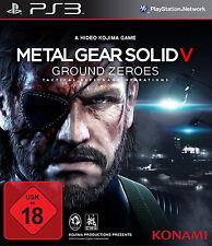 Metal Gear Solid V: Ground Zeroes  für Die PS 3 - Konami