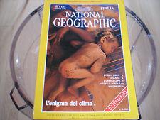 National Geographic maggio 1998 L'enigma del clima