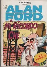 ALAN FORD   #  76  MI RICORDO CHE...  ( con adesivi )