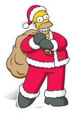 Homer Simpson Santa Die Lebensgröße Pappaufsteller WEIHNACHTEN