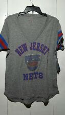 Carl Banks 4 Her Hardwood Classics New Jersey Nets Shirt Size XL