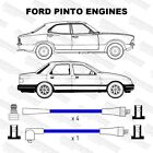 Ford Pinto MOTOR 4 Cilindros Rendimiento Doble Silicona Azul 8mm Cables HT