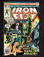 "Iron Fist #10 ~Wanted :Iron Fist ""Kung Fu Killer!"" ~ 1977 (9.0) WH"