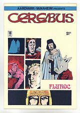 Cerebus the Aardvark #18 NM- Autographed by Dave Sim - Super Bright