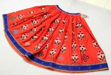Embroidery India Gypsy Ethnic Banjara Rabari Tribal Belly Dance Boho Kuchi Skirt