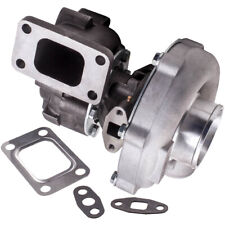 T3 T4 T04E T3/T4 Turbo Turbocharger 0.57A/R 0.5A/R 44 Trim, 5-Bolt 400+HP Boost