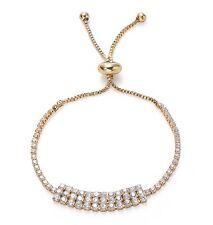 Very Sparkly Gold Cubic Zirconia Tennis Bracelet