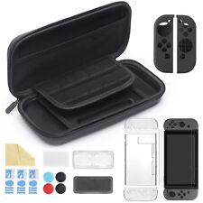 Kit 11 Accessoires Nintendo Switch - Housse Protège écran Coque Grip Joy-Con