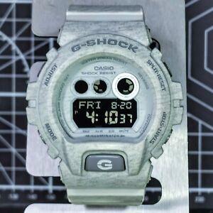 Grey HEATHER TEXTURE G-Shock GD-X6900HT-8 Monochrome Extra Large DW-6900 XL 2015