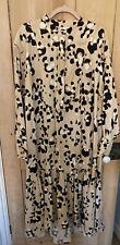 H&M Nuevo Vestido Estampado De Leopardo Talla S