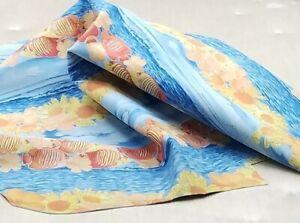 Fish Sharm Print Kid Suede Leather Hide Crafts Sheath Handbag Upholstery Lining