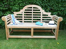 THE SISSINGHURST QUALITY HUMBER TEAK 1.67 METRE  BENCH PATIO GARDEN FURNITURE