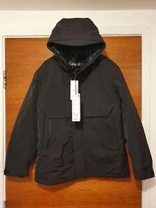 Uniqlo +J Oversized Hybrid Down Parka Jacket Jil Sander Black - XS
