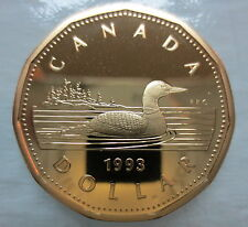1993 CANADA LOONIE PROOF ONE DOLLAR COIN