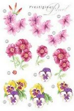 PRETTY DECOUPAGE FOR CARDS OR CRAFTS - FLOWERS 3