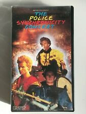 THE POLICE -  Synchronicity Concert - VHS OOP