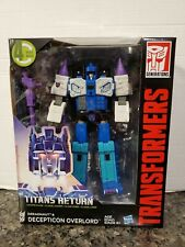 Transformers TITANS RETURN OVERLORD LEADER CLASS