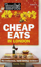 Time Out Cheap Eats in London,Time Out Guides Ltd,Acceptable Book mon0000102736
