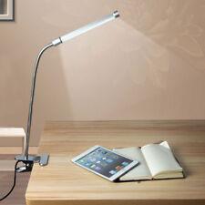 Modern Adjustable Clamp Clip On LED Lights Craft/Reading Table Desk Bedside Lamp