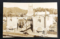 Vintage Real Photo Postcard Graumans Chinese Theatre Hollywood California RPPC