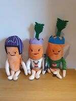 ALDI - Kevin The Carrot Family Inc Pilot Carrot  Soft Toy Bundle Xmas Gift *NEW*