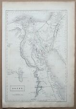 1844 Map Egypt Arabi