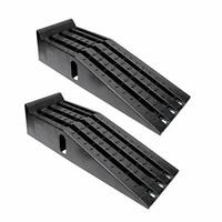 Vehicle Service Ramp Set – 6.3in Car Lift 2 Ton Heavy Duty Truck Ramps for