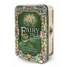New Fairy Tale Lenormand Deck in Collectible Tin Lisa Hunt Us Games Mini Cards