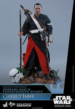 Hot Toys Star Wars Rogue One CHIRRUT IMWE Deluxe Version Figure 1/6 Scale MMS403