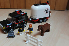 Lego 7635 Pferdetransporter inkl. OBA / 4WD with Horse Trailer with instruction