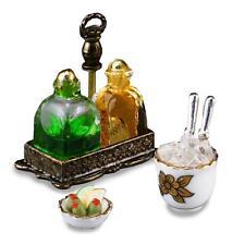Dollhouse Whiskey Decanter Set 1.613/5 Reutter Porcelain Miniature gemjane