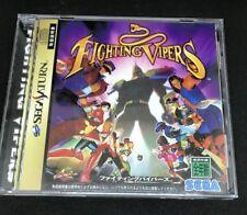 Fighting Vipers For Japanese Sega Saturn *USA Seller*