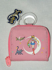 NEW  WITH TAGS   *SAILOR MOON*     FABRIC COIN PURSE  PINK  1999