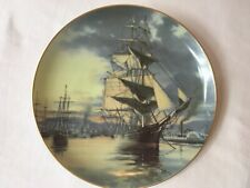 Leonard Pearce Flying Cloud Great Clipper Ship Plate 1981 Signature Collection