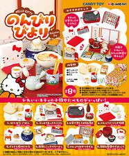 Re-Ment Miniature Sanrio Hello Kitty Relaxation Day Full set of 8 pcs