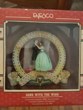 1989 Enesco Treasury Ornament 50th Anniversary Gone With The Wind NIB NEW RARE
