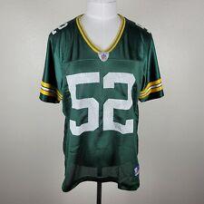 Reebok NFL On Field Womens L Green Bay Packers  Clay Matthews 52