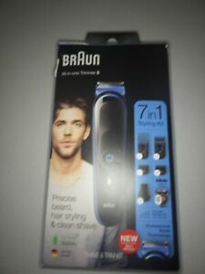 Braun 7-in-1 Beard Trimmer & Hair Clipper, All-In-One Manscaping Trimmer MGK5045