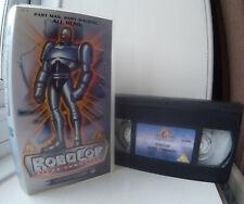 Robocop Alpha Commando - Justice Reborn (animated episodes) UK VHS Video