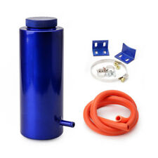 800ml Cylinder Radiator Overflow Reservoir Coolant Tank Universal Can Blue