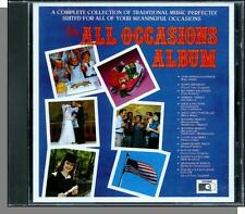 The All Occasions Album - New Variety Music CD! 14 Songs, Great For Party DJ's!