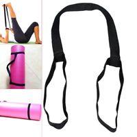 Adjustable Yoga Mat Sling Carrier Shoulder Carry Strap Belt Exercise Stretch