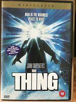 The Thing 1982 John Carpenter Cult Horror Remake with Kurt Russell