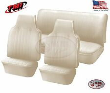 1968 - 1969 VW Volkswagen Bug Beetle Slip-On Seat Upholstery, Off White IN STOCK