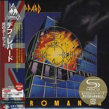 DEF LEPPARD - PYROMANIA - JAPAN MINI LP SHM CD - 1ST EDITION CD